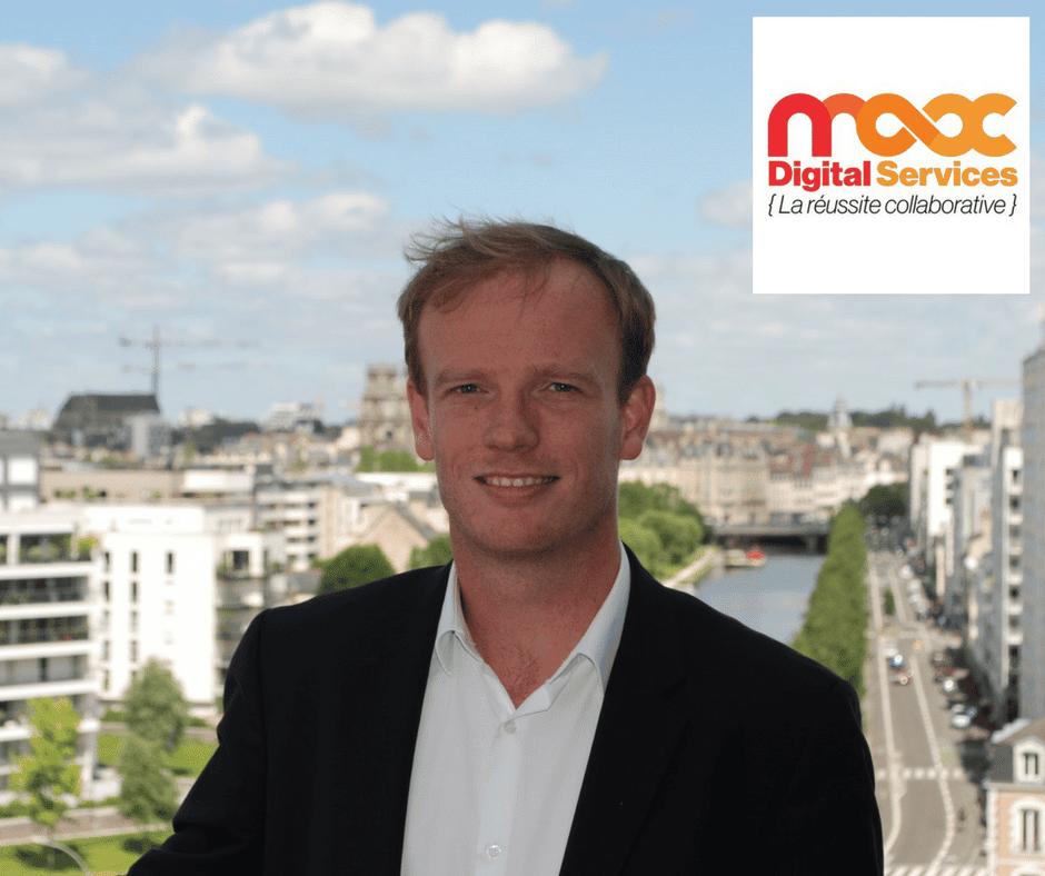 Anthony POIGNANT, Directeur Général Co-fondateur de MAX Digital Services SAS