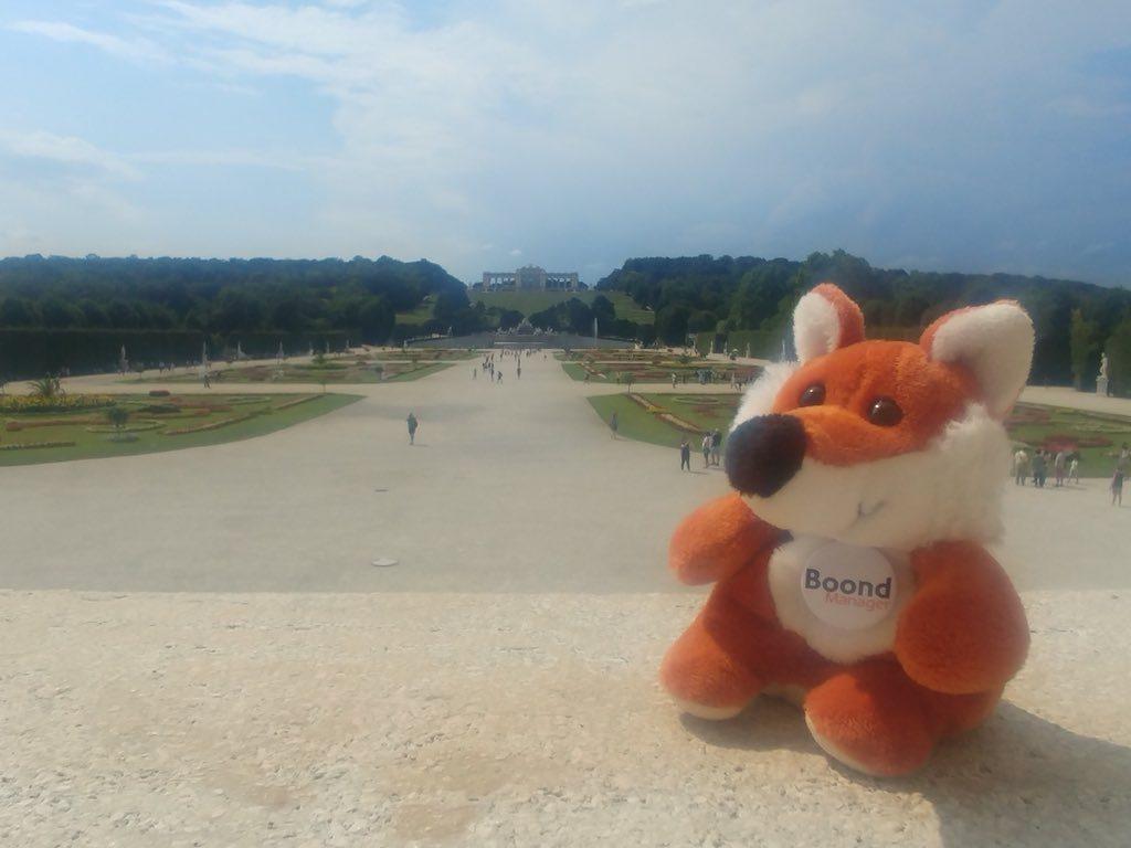 James Boond en Autriche, visite du château de Schönbrunn